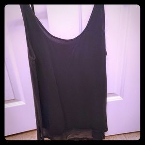 Black Express tank top